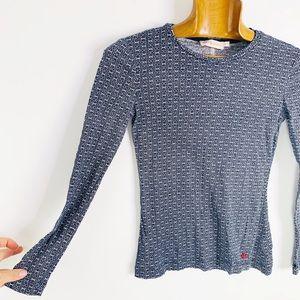 TORY BURCH Germain Gemini link longsleeve t shirt